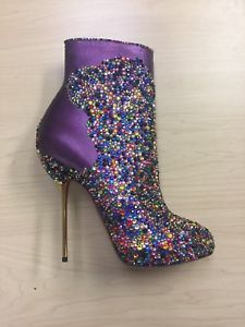 34b9dc57ecf8 Christian Louboutin FASTISSIMA Rainbow Strass Multicolor Size 37  25% to  Charity  ad  christianlouboutin  heels  shoes  womensshoes  womensfashion    ...