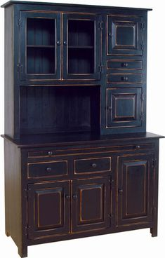 I'm convinced that I NEED to own a hoosier cabinet someday. And this one is beautiful. :)