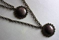 Chain, Stone, Jewelry, Fashion, Fimo, Moda, Rock, Jewlery, Jewerly