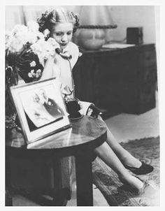 Pictures of the young actress Evita Duarte Ines honeymoon short advertising film, made in 1938 by the Linter advertising company. this photograph is part of the invaluable heritage of the Museum of the cinema Pablo Ducros Hicken, located at 1220 Defensa Street, in the picturesque district of San Telmo, Buenos Aires.