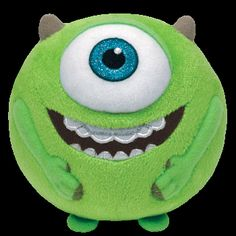 903d32238f2 Mike - Medium Monsters University Ty Beanie Ballz