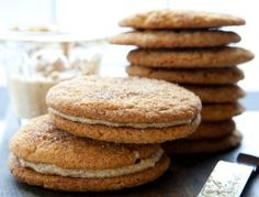 Snickerdoodle Sandwich Cookies...gluten free but you'd never know!