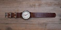 How to: Make a DIY Masculine Leather Watch Strap