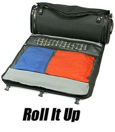 The World's First Rolling Garment Bag by SkyRoll Luggage Company