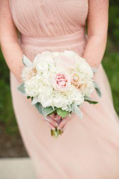 Bridesmaid bouquet: http://www.stylemepretty.com/ohio-weddings/cleveland/2015/02/26/romantic-bistro-wedding/ | Photography: Lauren Gabrielle - http://laurengabrielle.com/