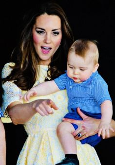 princess with her baby boy!
