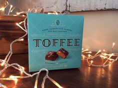 Mrs Weinstein's toffee from Texas is the best toffee we've ever tasted! www.historicalchristmasbarn.com