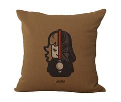 Decorative cushions pillow Star Wars Yoda C3po r2d2 Black Knight pattern print linen-cotton decorated Sofa cushion