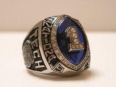 Louisiana Tech championship ring