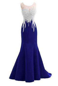 Prom Dresses For Teens, Crystal Mermaid Sexy Backless Sparkly Long Prom Evening Dresses Dresses Modest Royal Blue Evening Dress, Royal Blue Prom Dresses, Cute Prom Dresses, Blue Evening Dresses, Dresses For Teens, Pretty Dresses, Homecoming Dresses, Royal Blue Bridesmaids, Blue Gown