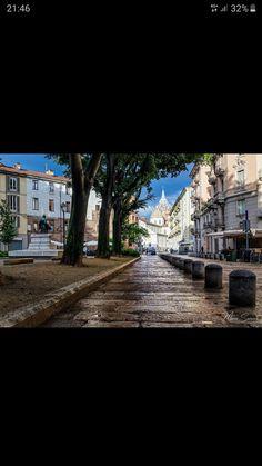 Turin, Sidewalk, Italia, Side Walkway, Walkway, Walkways, Pavement