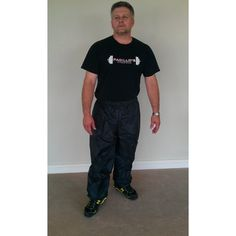 Nylon Black Sauna Suit Pants  3XL *** You can find more details by visiting the image link.