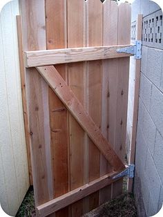 DIY Gate Tutorial by Dream Book Design
