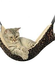 Gato / Cachorro Camas Animais de Estimação Capachos e Alcochoadas Portátil / Dupla Face / Respirável / Tenda / Leopardo / Zebra / Casual