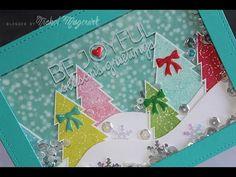 "Simon Says Stamp November 2014 Card Kit | ""Be Joyful"" Card - YouTube Nichol Magouirk"