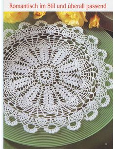 ru / Фото - Diana № 50 Deckchen - Maria-Nikolaevna Diana, Crochet Earrings, Decorative Plates, Knitting, Simple, Handmade, Home Decor, Gallery, Art