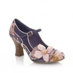 dac4c2886c9 Madelaine Slate Pink Blue Ruby Shoo Romantic Heels  madelaine  slate  floral