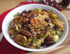 Warm+Quinoa+and+Sprout+Salad+with+Maple-Roasted+Pecans