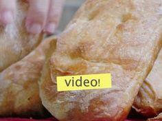 Una receta de pan casero PERFECTA para principiantes... el pan se hace solo! no se amasa y queda siempre bien. No dejen de verlo, les va a encantar.