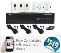 Whole home audio controller and amp
