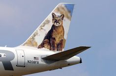 Frontier Airlines Airbus A320-214 N208FR 'Charlie the Nittany Lion'