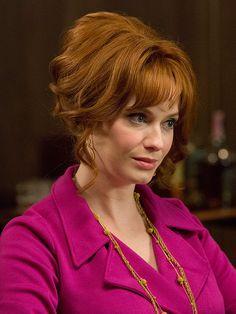 Christina Hendricks on Her <em>Mad Men</em> Look: I Begged for Joan to Wear Her Hair Down http://stylenews.peoplestylewatch.com/2015/04/06/christina-hendricks-joan-holloway-mad-men-hair/