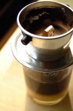 Vietnamese coffee... nothing better!