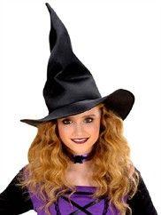 Sort heksehat der kan formes til børn