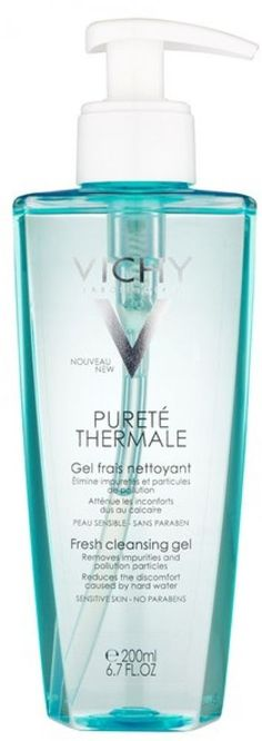 Vichy Purete Thermale Fresh Cleansing Gel (200ml) http://www.ebay.co.uk/itm/Vichy-Purete-Thermale-Fresh-Cleansing-Gel-200ml-/291815865124?hash=item43f194bb24:g:VaUAAOSwygJXg0JU
