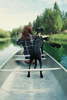 Grab a canoe and your best friend