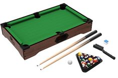 Outdoor pool tables should be able to stay outside without developing any issues on its body parts. Therefore, during purchase, ensure that the table is Outdoor Pool Table, Pool Tables, Billiards Game, Tabletop, Sticks, Balls, Mini, March, Table