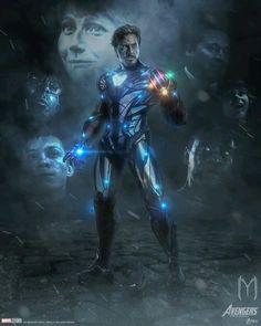 Eu quero ver o Tony voltando e vingando todos aqueles que Thanos matou. Créditos da imagem à: ultraraw26