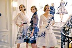 notordinaryfashion:  Christian Dior Haute Couture - Backstage