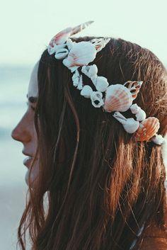 cool Coiffure mariage : Calypso Mermaid Headband