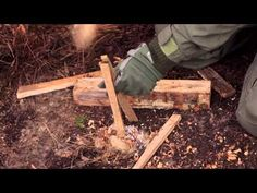 Navy Skills for Life Land Survival Training Fire Building. From building a shelter to signaling for rescue learn from Navy Instructor Paul Levins how to assure your survival on land from the moment you realize you are lost until help arrives. Paul trains Naval Aviators how to survive if they ever have to eject and now he teaches you those same skills. This episode focuses on how to build a fire using magnesium. Outdoor Survival, Survival Tips, Survival Skills, Military Videos, Military News, The Moment You Realize, In This Moment, To Build A Fire, Naval Aviator