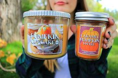 Love buying a couple fall-scented candles from Bath and Body Works every autumn.