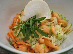 Rezept: Salate: Frischer Rohkostsalat mit Buttermilchdressing