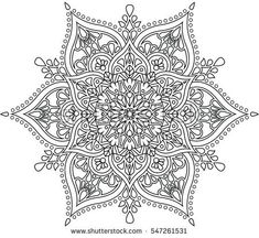 Find Mandala stock images in HD and millions of other royalty-free stock photos, illustrations and vectors in the Shutterstock collection. Thousands of new, high-quality pictures added every day. Disney Coloring Pages, Coloring Book Pages, Mandela Patterns, Illustration, Amazing Drawings, Mandala Coloring, Dot Painting, Zentangles, Tapestry