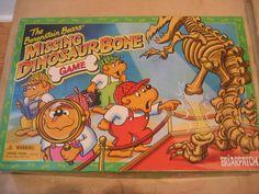 The Berenstain Bears Missing Dinosaur Bone Game