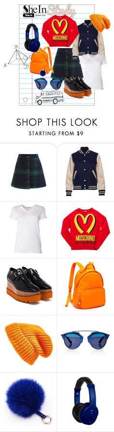 """""""SHE IN"""" by larisa-ivanov ❤ liked on Polyvore featuring Marc Jacobs, T By Alexander Wang, Moschino, STELLA McCARTNEY, Tommy Hilfiger, Topshop, Christian Dior and Vivitar"""