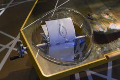 Interaktives Exponat / Hands-On Mutoskop in den WattWelten Norderney. Konzipiert und realisiert von Impuls-Design.