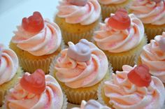 Percy Pig Mini Cupcakes « from the sweet kitchen
