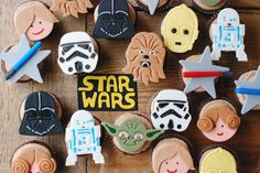 Starwar cupcakes By Be Sweet by Maria