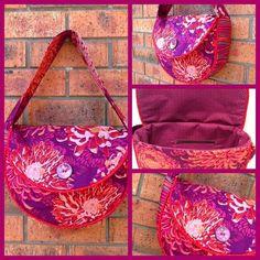 (9) Name: 'Sewing : Piping Hot Curves Bag