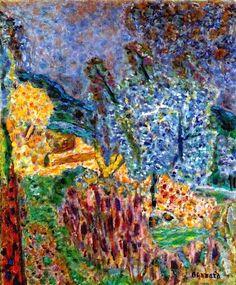 Pierre Bonnard - The Garden  ♥ Inspirations, Idées & Suggestions, JesuisauJardin.fr, Atelier de paysage Paris, Stéphane Vimond Créateur de jardins ♥