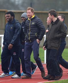 Royal Family Around the World: Prince Harry Attends UK Team Trials For The Invictus Games Orlando 2016 n January 29, 2016 in Bath, England