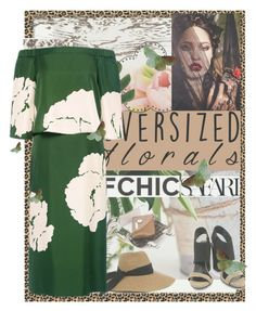 """""""Floral Pattern"""" by vallyk ❤ liked on Polyvore featuring Bandolera, Chantal Thomass, Mohzy, TIBI, Dee Keller and ifchic"""