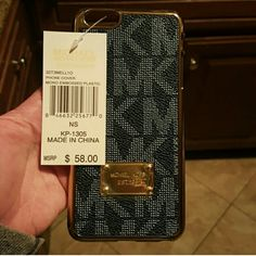 MK iPhone 6 6s phone case not made by mk.  new price is firm MICHAEL Michael Kors Accessories Phone Cases