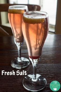 Summer Fizz from Fresh Salt @ Saybrook Point Inn and Spa in Old Saybrook, CT