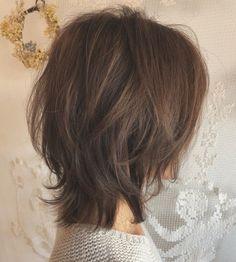 Messy Bob Hairstyles, Haircuts For Long Hair, Short Hair Cuts, Straight Hairstyles, Edgy Short Hair, Korean Short Hair, Medium Hair Styles, Curly Hair Styles, Medium Shag Haircuts